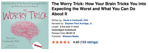 The Worry Trick - Audible